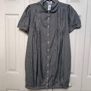 COTTON EXPRESS-NWT short sleeve shirt like dress.